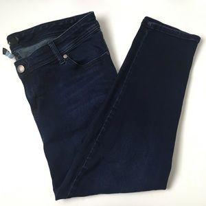 Torrid dark wash skinny jeans
